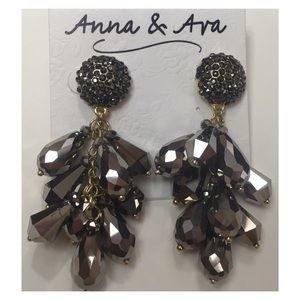 Anna & Ava Earrings, New With Tags